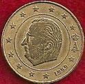 MONEDA BÉLGICA - KM 227 - 10 CÉNTIMOS DE EURO - 1.999 - ORO NÓRDICO (MBC-/+/VF-/+) 0,60€.