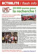 lmc france soutien recherche leucemie myeloide chronique leucémie myéloïde recherche cancer sang