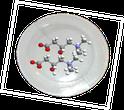 schematische Darstellung eines Biophotonenpflasters mit den enthaltenen Wirkstoffen