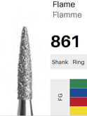 FG-Diamant 861, Flamme