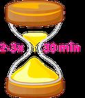 Frauen Fitness Symbolbild Sanduhr 30 Minuten