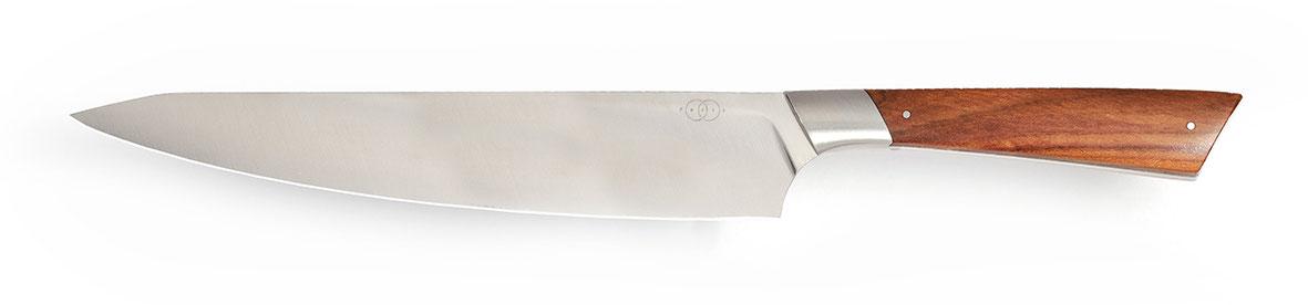 Kochmesser Niolox Rostfrei, Messerdesign, Hochwertiges Messer Exklusive Messer, Handgefertigtes Messer, Handarbeit, Designermesser, Foto: Janos Freuschle