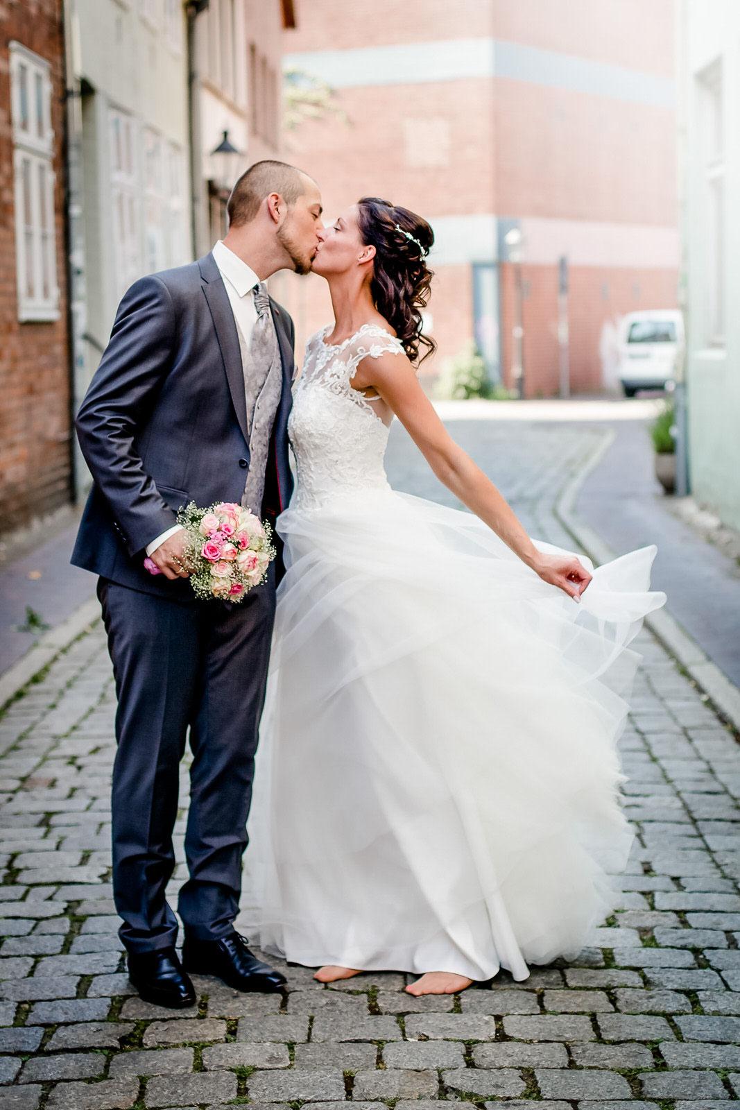 Hochzeit von Tanja & Gerrit in Lüneburg Hochzeitsfotografie  Hochzeitsreportage Hochzeitsfotos Hochzeitsbilder FOTOFECHNER Hochzeitsfotograf Lüneburg