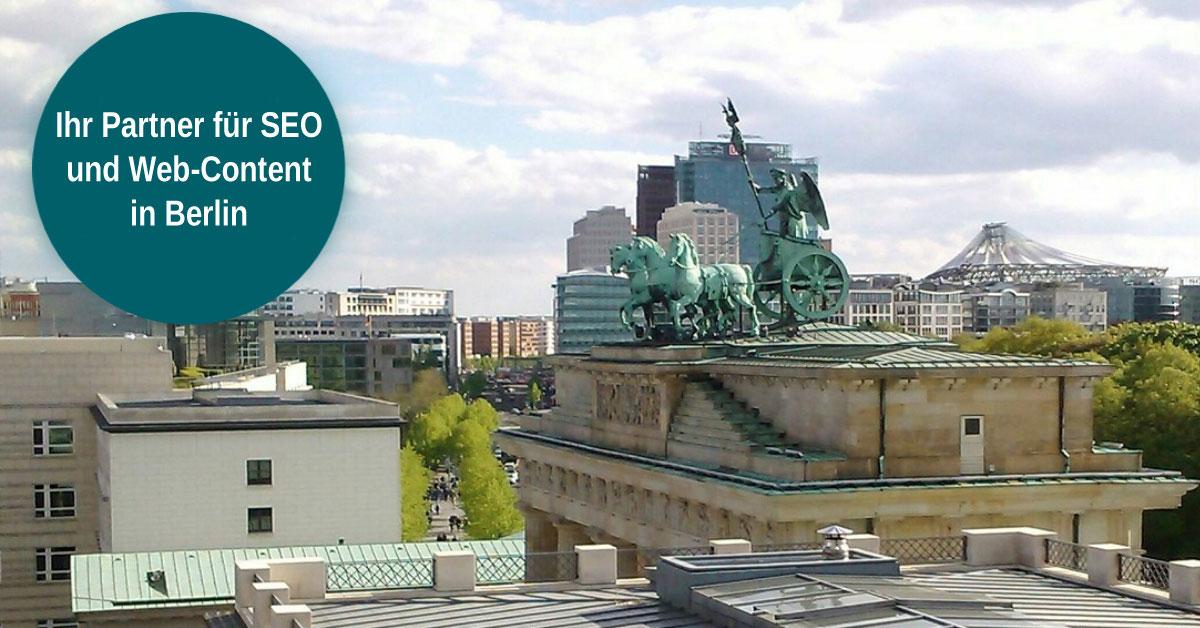Infos SEO Freelancer Agentur Berlin für Suchmaschinenoptimierung, Social Media Marketing, Content,  Webdesign.