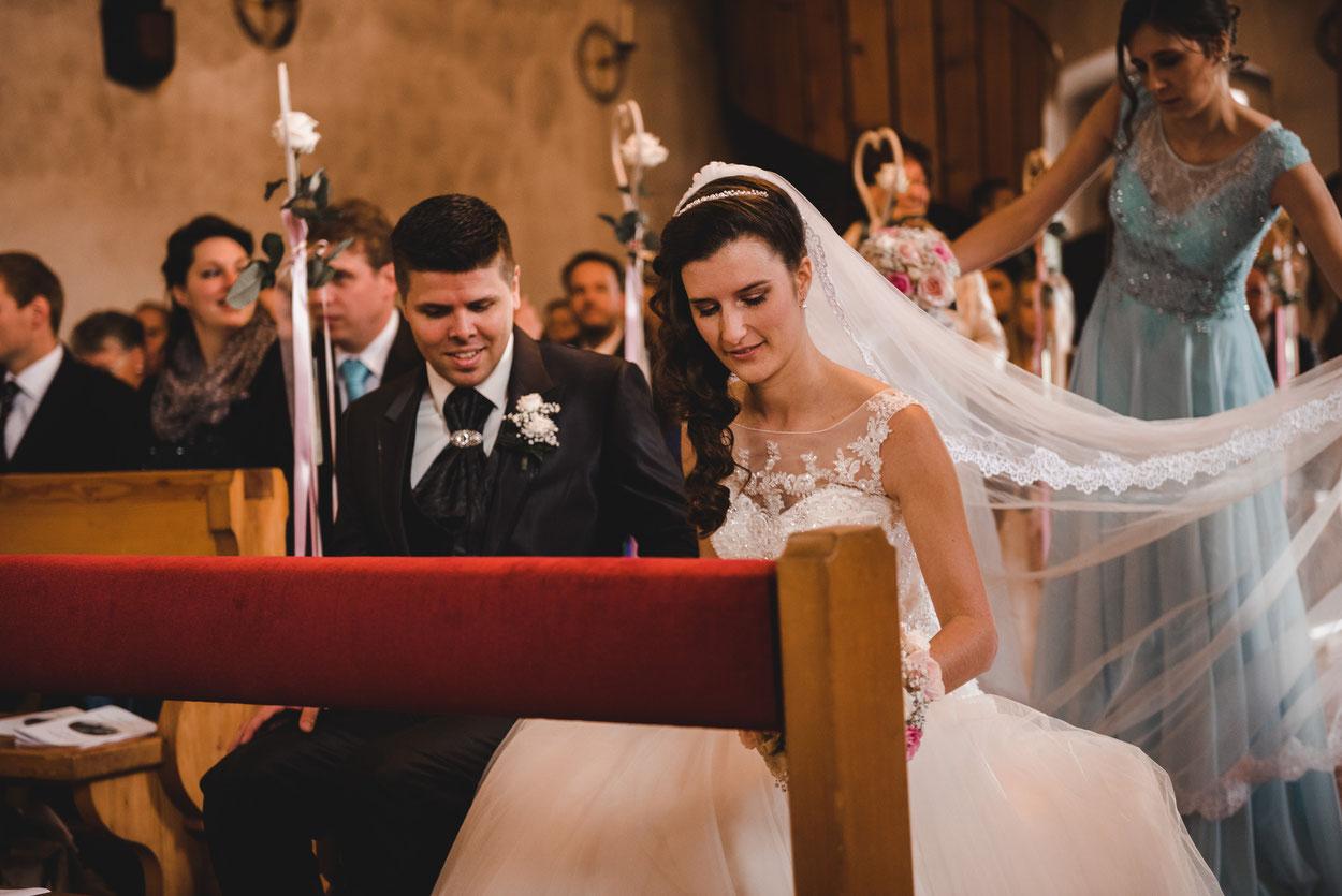Fabienne und Jan, Hochzeit Steinen