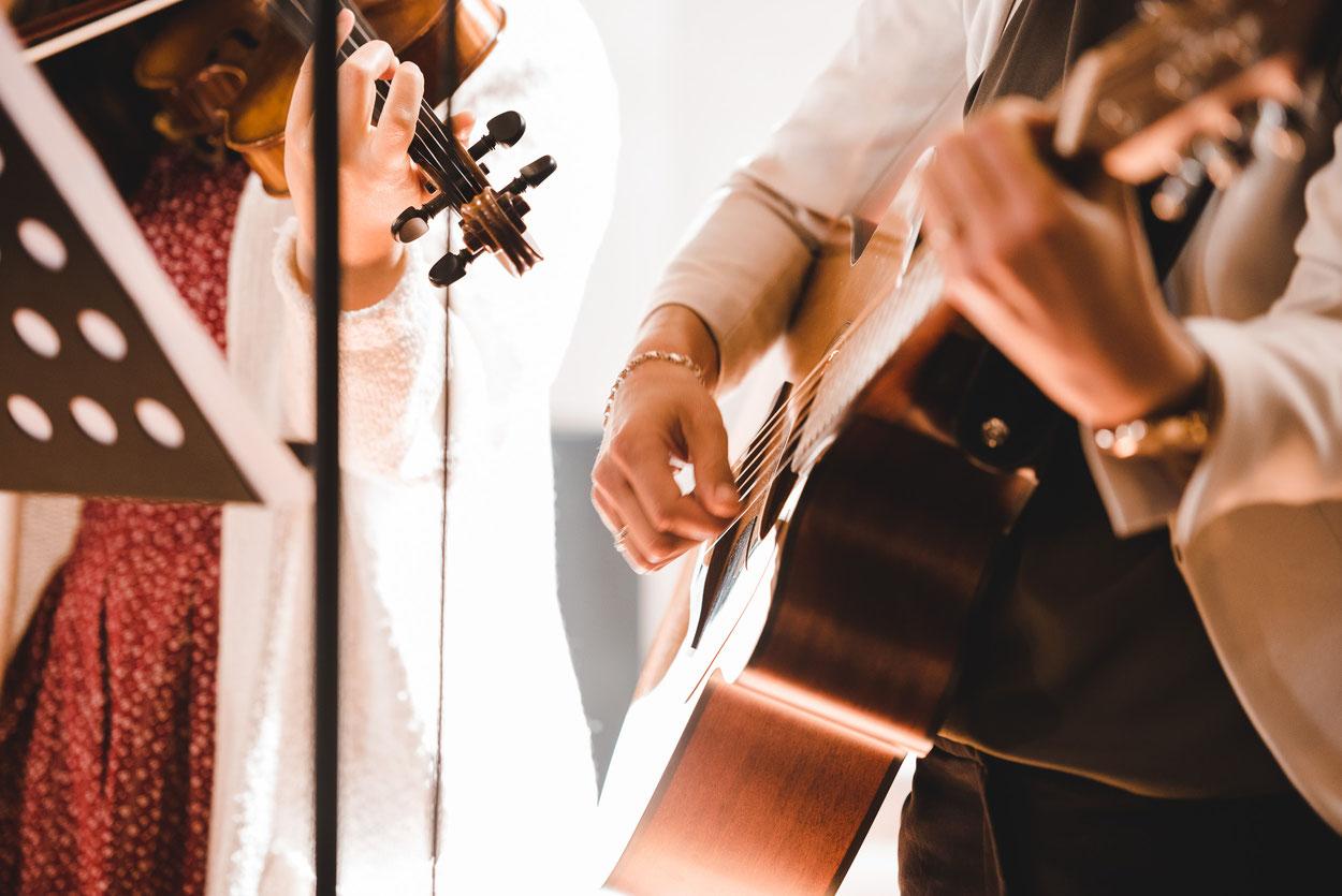 Fabienne und Jan Musik
