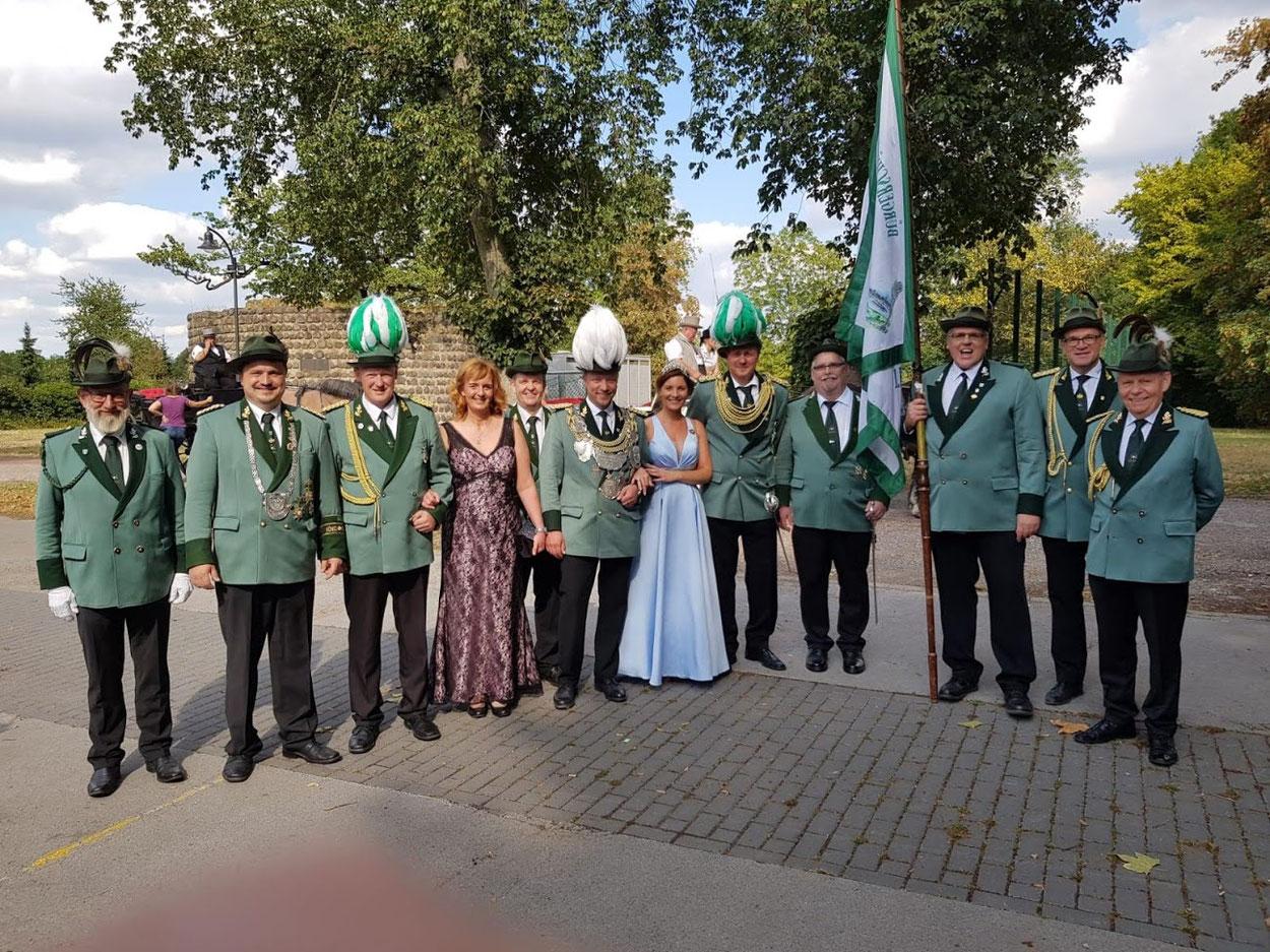 Stadtschützenfest in Rheinberg am 11.08.2018