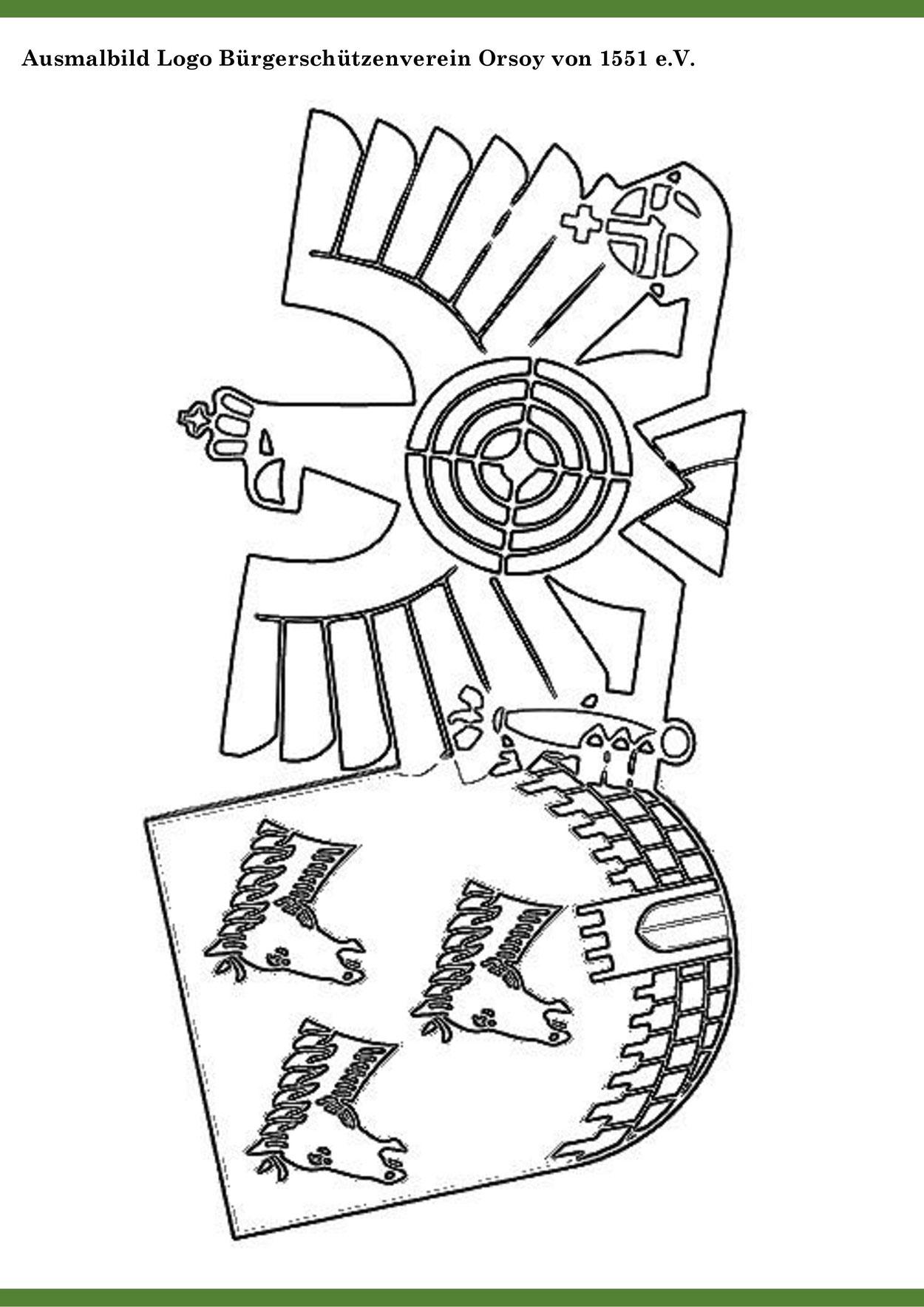 BSV-Orsoy, Orsoy, Schützenblatt, Bürgerschützenverein, Schützenverein, Kinderschützenblatt