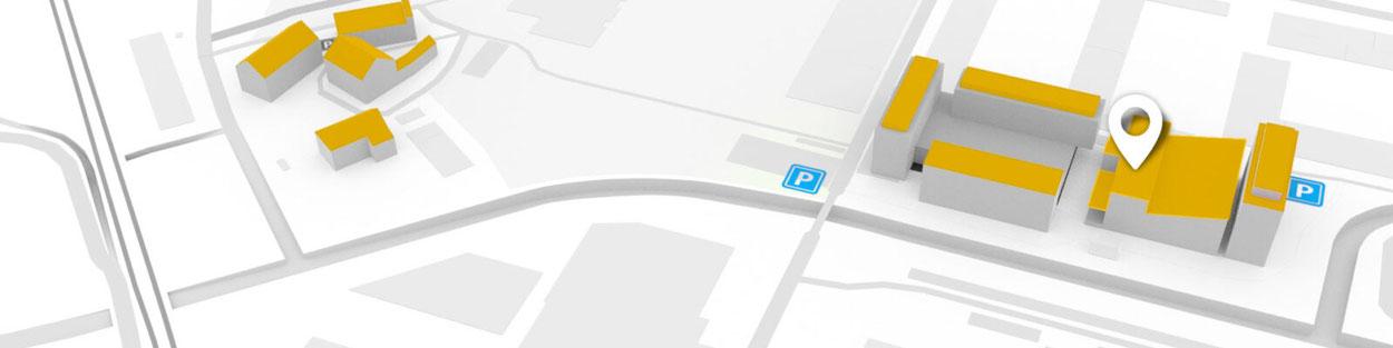 Anfahrt TownVillage Treuhand mit Herz GmbH
