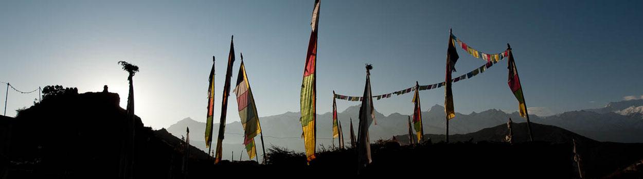 Trekking Reise in Nepal - im Norden von Mustang