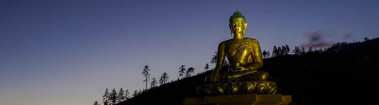 Kloster in Paro während der Kultur-Reise Zauberhaftes Bhutan