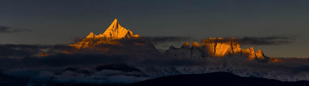 Nepal, Reisen, Trekking, Manaslu und Annapurna