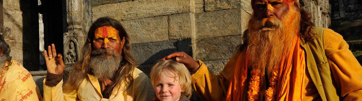 Reisen Himalaya, Trekking Nepal, Kathmandu, Sadhu, Pashupatinath
