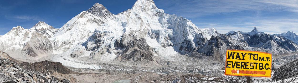 Lodge-Trekking ins Basecamp des Mount Everest und Besteigung des Kala Patthar in Nepal