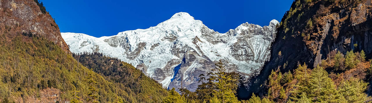 Trekking-Reise um den 8000er Manaslu in Nepal