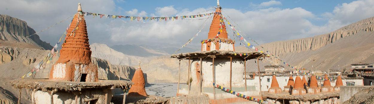 Zelt-Trekking von Jomosom nach Lo Manthang und Muktinath - Mustang in Nepal
