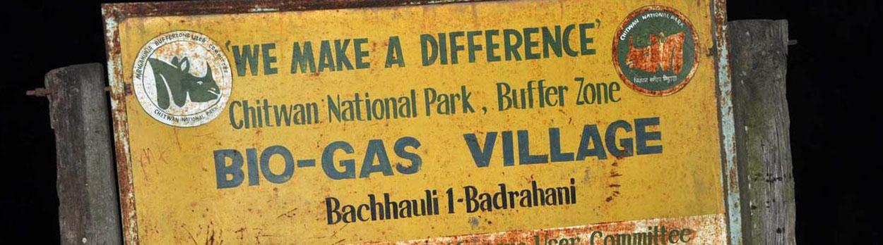 myclimate Biogas in Nepal, Klimaschutzprojekt, welches von Himalaya Tours unterstützt wird.