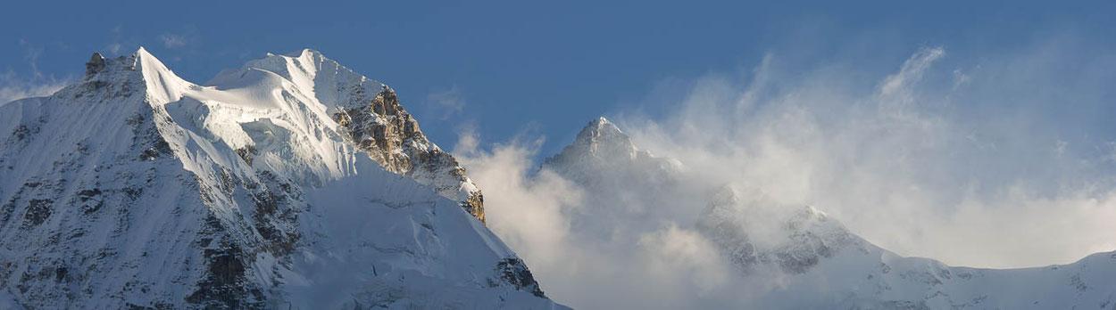 Trekking in Sikkim - phantastische Aussicht vom Goechala auf den Kangchendzönga (Kangchenjunga)