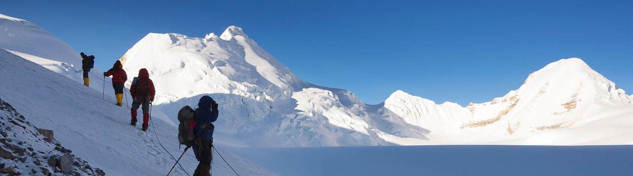 Nepal-Trekking über den 6000 Meter hohen Seribung Pass und Besteigung des Seribung Peak (Saribung Peak) in Nepal