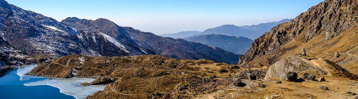 Trekking-Reise zu den heiligen Seen von Gosainkund in Nepal