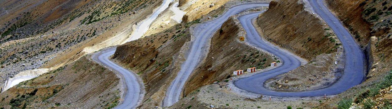 Überland-Reise von Ladakh nach Manali und Leh