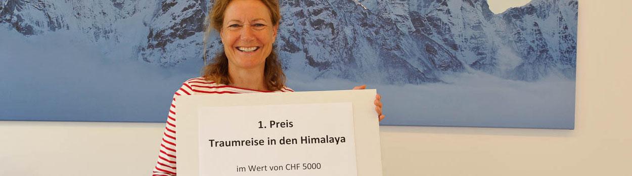 Himalaya Tours, Reise zu gewinnen, Traumreise Himalaya,