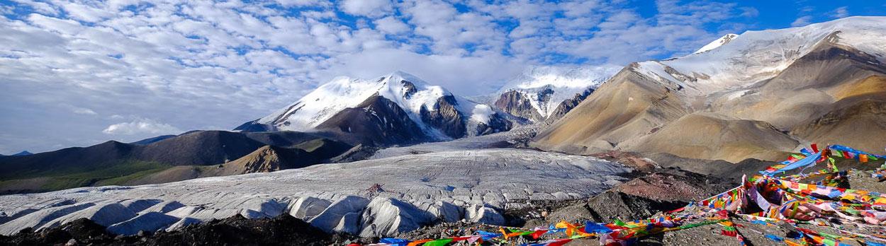 Trekking um den Amnye Machen in Amdo im Osten von Tibet