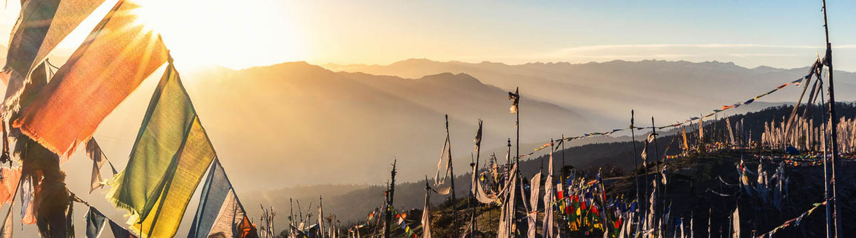 Laya Trekking in Bhutan - vorbei an den Himalayagipfeln Jomolhari und Tiger Mountain