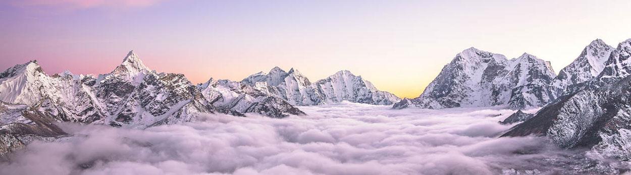 Nepal - Reisen, Trekking und Gipfelbesteigungen
