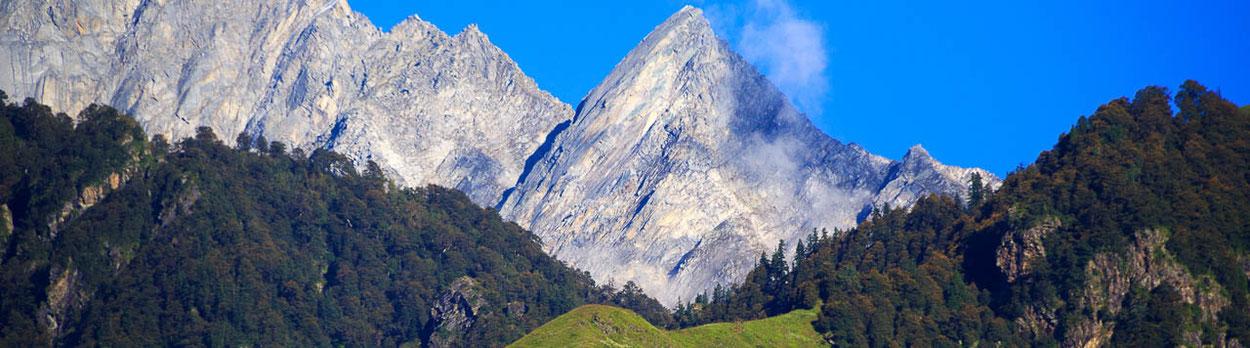 Himachal Pradesh - Trekking von Dharamshala über den Indrahar Pass