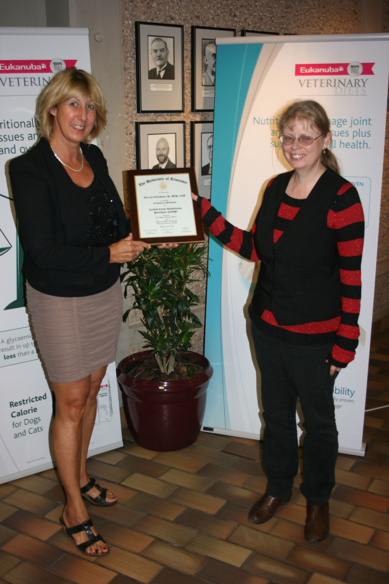 CCRP-Certificate for the course for canine physical therapy and rehabilitation in South africa