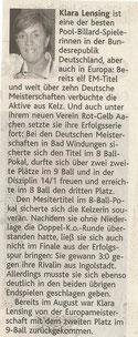 Dürener Zeitung 01.11.2008