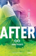 Anime perdute. After. Vol. 4 di Todd Anna      Prezzo:  € 17,90     ISBN: 9788820058708     Editore: Sperling & Kupfer [collana: Pandora]     Genere: Narrativa / Rosa     Dettagli: p. 402