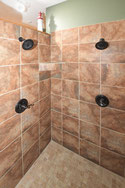 Lunker Lodge Master Shower