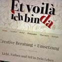 Druckatelier46 Mülchi Kanton Bern - Webseitengestaltung Et voilà - ich bin da