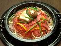 プルコギ鍋(韓国風スキヤキ)