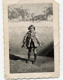 """diane, la petite orpheline de la guerre parce que son papa n'avait pas voulu aller au """"STO"""" et s'étant sauvé dans les bois, il a fini par être blessé et il en est mort  laissant sa petite môme de 10 mois et sa compagne bien aimée qui mourra  de chagrin"""