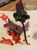 ブルベリーケーキ