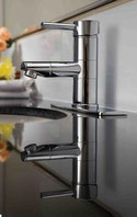 Quoss basin mixer, Stylish matching plate to cover up holes BSM006, WELS 5 star rating, 5L/min