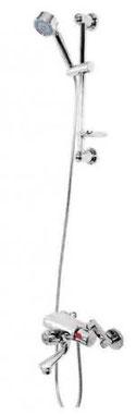 Quoss Thermo Diverter Shower/Bath Full Set TDBS001, WELS 3 star rating, 5.5L/min