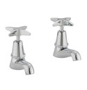 Cascade Pillar Taps, WELS 3 star rating, 9L/min