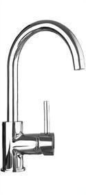 Quoss gooseneck sink mixer KM005