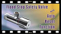 Click to watch YouTube video Flood Stop Safety Valve Auto Reset Function