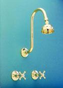 Roulette Flamingo Shower Set