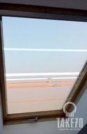 Sichtschutz mit Glasdekor-Folie