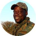 Portrait Teilnehmer Antiwilderer-Training Michael Kapetja