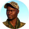Portrait Teilnehmer Antiwilderer-Training Richard Kavetu