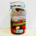 イチゴとローズマリーとローリエのお酒、自家製果実酒