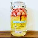イチゴとパイナップルのお酒、自家製果実酒