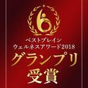 ベストブレインウェルネスアワード 2018 グランプリ受賞